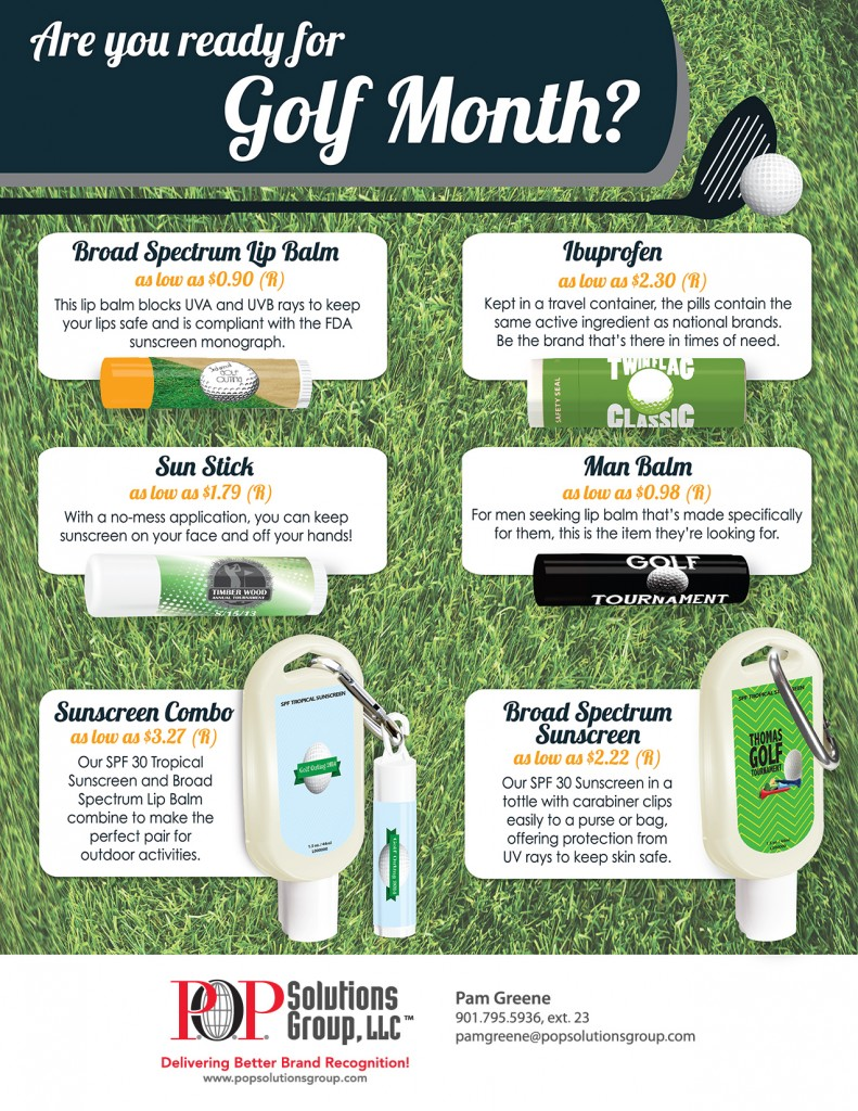 Golf Month Flyer